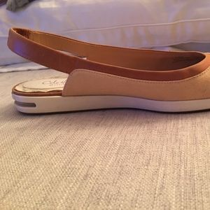 Cole Haan Nike Air Canvass Sling Backs